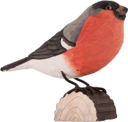 Holzvogel Dompfaff handgeschnitzt kaufen