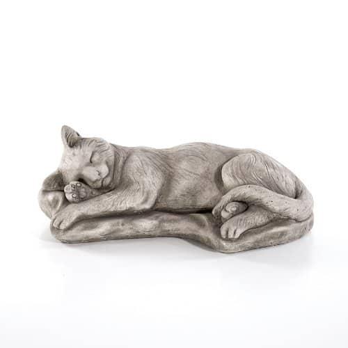 Steinguss Katze - Deko Katze