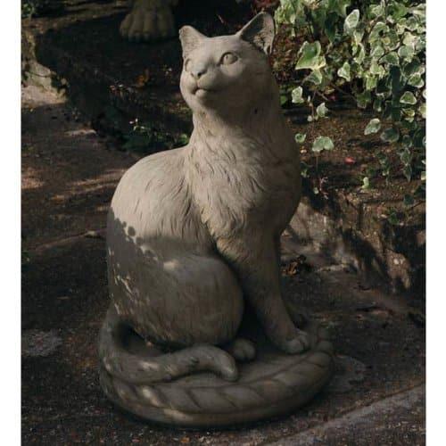 Katzenfigur - Steinguss Katze