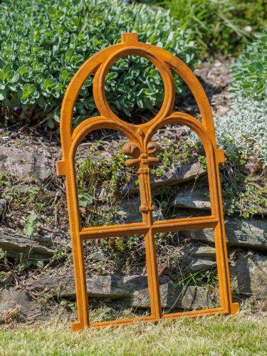 Gusseisen Rahmen Stallfenster rostig antik