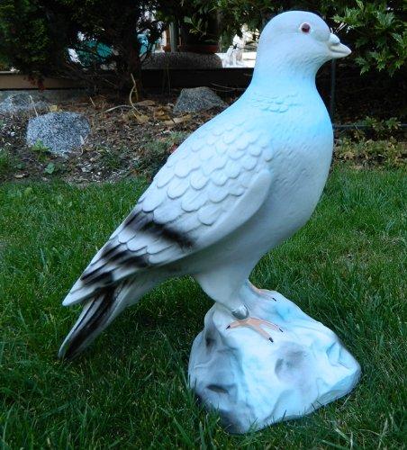 Deko Taube Deko Vogel stehend