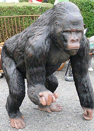 Deko Affe lebensgroßer Deko Gorilla