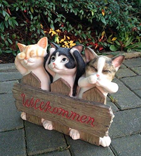 Willkommensschilder Katzen