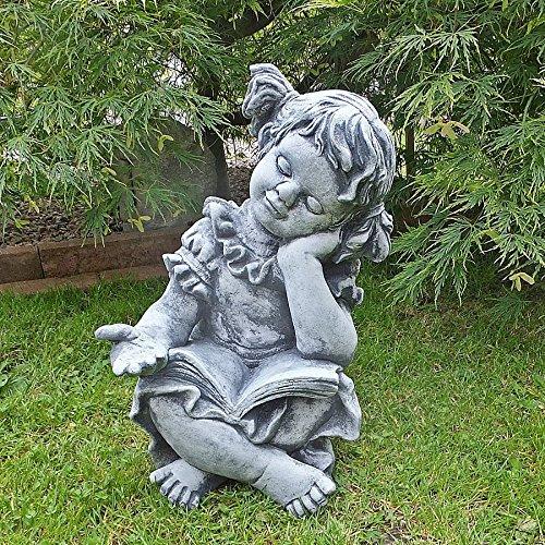 Steinfigur Mädchen Steinguss