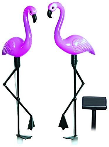 Solarfigur Flamingos, 3-er-Set
