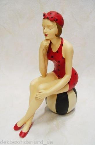 Dekofigur Lady Burlesque 50 /60 er Jahre Pin Up Girl