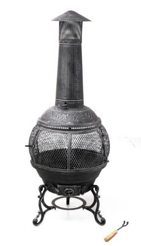Feuerstelle aus Gusseisen