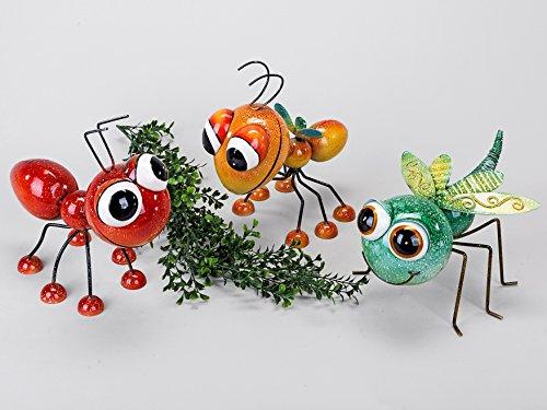 Lustige Gartenfigur Libelle