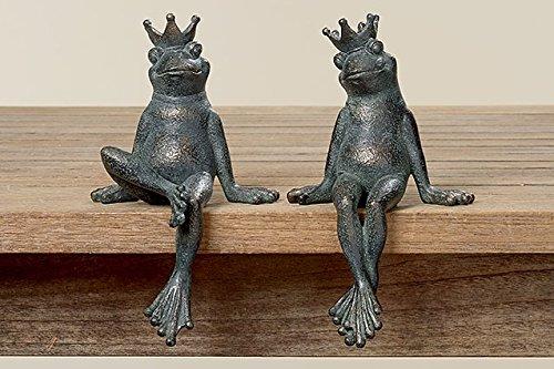 Kantenhocker Frosch Paar