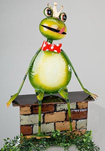 Gartenstecker lustiger Frosch