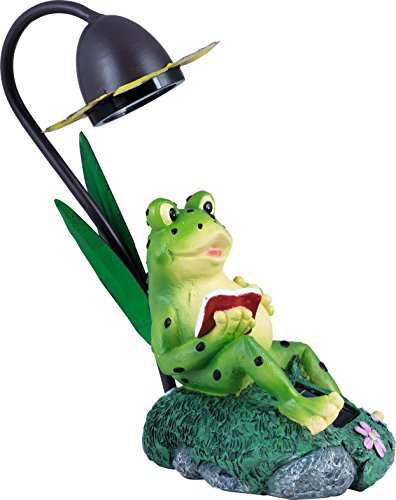 Solar Frosch mit LED