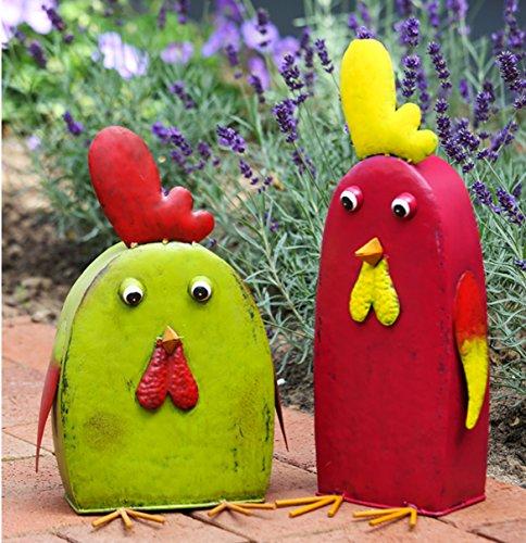 Gartenfigur lustiges Huhn