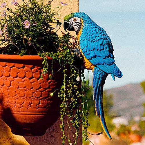 Gartenfigur Papagei