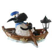 Gartenfigur Schaf 'Piet' mit Solarlampe