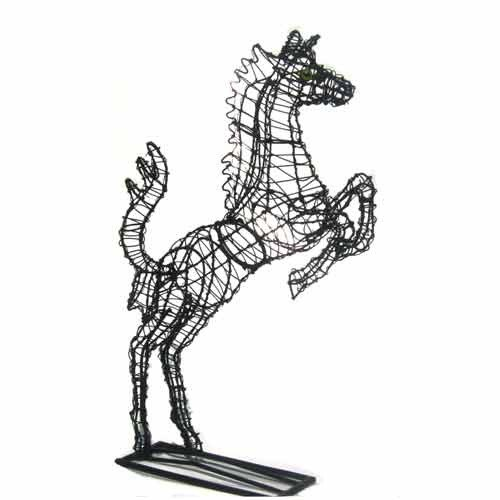 Drahtfigur Pferd
