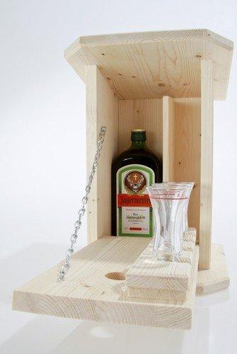 Garten Zwitscherkasten Schnaps-Bar Minibar