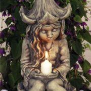 Gartenfigur Lichterfee – Fee Lucia