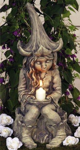 Gartenfigur Lichterfee - Fee Lucia