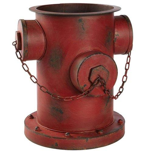 Shabby Chic Blumentopf Hydrant Rostoptik