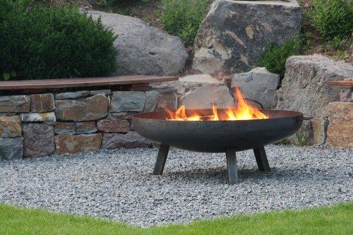 Feuerschale aus Stahl