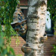 Gartenfigur Baumelfe Holly