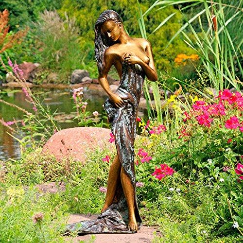Gartenfigur Grazie aus Bronze groß
