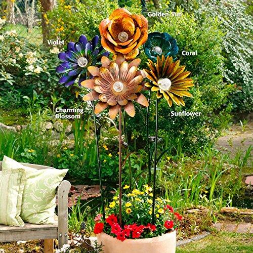 Große Solarblumen - LED Flower