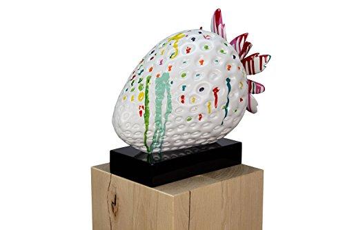 """KunstLoft® Deko Skulptur Erdbeere """"Süße Verführung"""""""