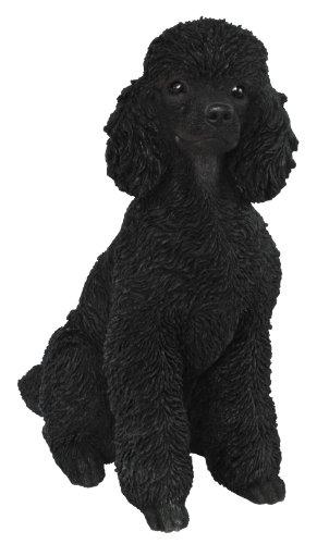 Vivid Arts Deko Pudel, schwarz, sitzend