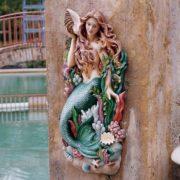 Wandskulptur Meerjungfrau – Bucht der Melodie