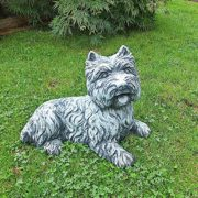 Deko Hund West Highland Terrier