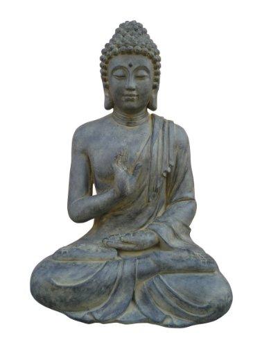 Buddha Figur sitzend für Haus und Garten