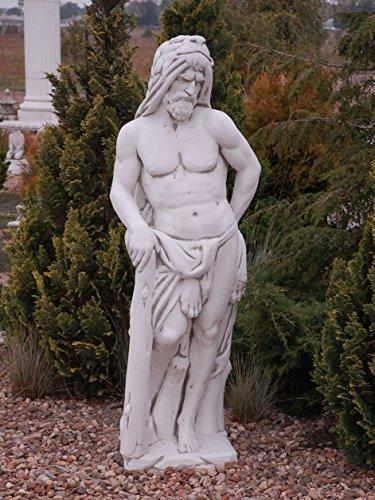 Zeus Statue - olympischer Gott Steinguss