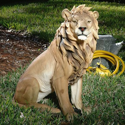 König der Tiere Löwen Kinderzimmerfigur