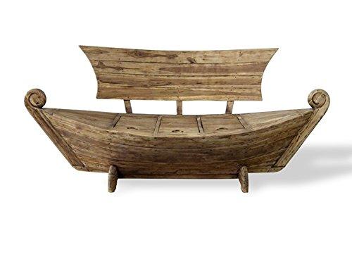 Bootsbank aus Teakholz