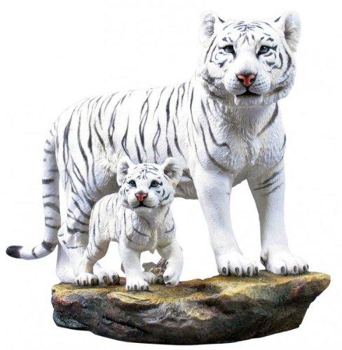 Tigermutter mit Babytiger