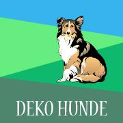 Deko Hunde, Hundefiguren für den Garten