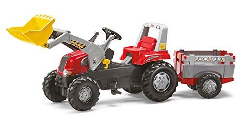 Kindertraktor mit Bagger - rollyJunior RT Frontlader