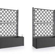 pflanzen schubkarre deko pflanzk bel aus holz gartendeko. Black Bedroom Furniture Sets. Home Design Ideas