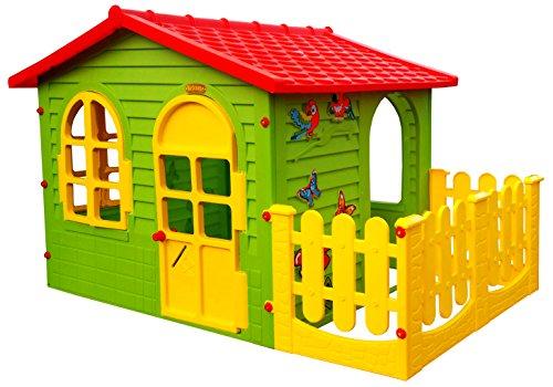 Gartenspielhaus für Kinder mit Terrasse