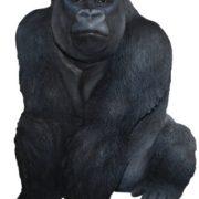 Kunstharz Gorilla, Dekofigur jetzt ansehen!