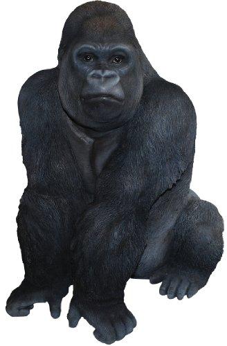 Kunstharz Gorilla, Dekofigur