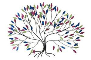Wandskulptur Baum 'Wild Growth' 76x102x11cm KunstLoft®