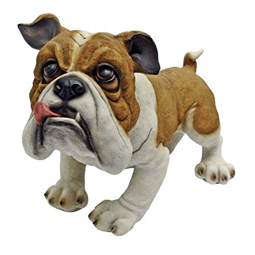 Hundefigur für den Garten - Britische Bulldogge Winston
